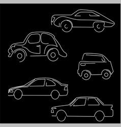 vehicle image vector image