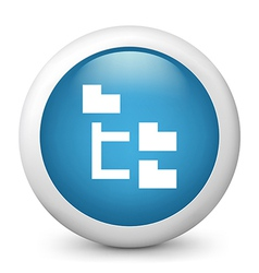 File achive glossy icon vector