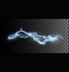 Thunderbolt or lightning visual effect for design vector