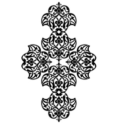 Antique ottoman turkish design one vector