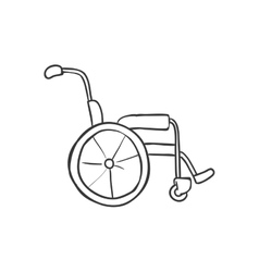 Wheelchair icon medical and health care design vector