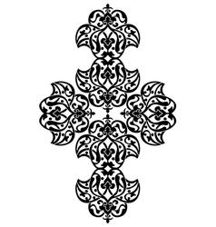 Antique ottoman turkish design one vector