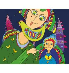 Girl Candy Boy vector image vector image