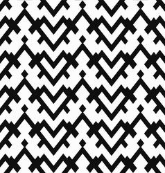 Monochrome heart seamless pattern vector