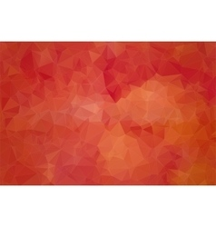 Red abstract background consisting of angular vector image vector image