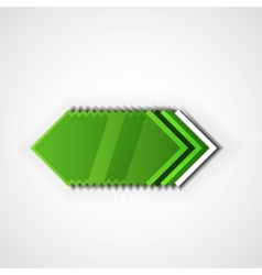 Green pointer vector