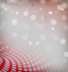 Christmas red background dots vector