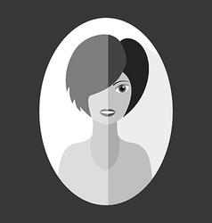 Avatar female vector