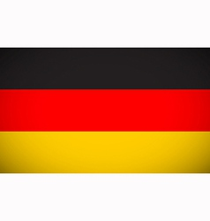 National flag of germany vector