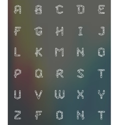 Alphabet set vector