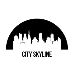 City Skyline design vector image