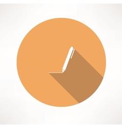 pen - icon vector image vector image
