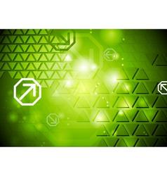 Shiny abstract hi-tech backdrop vector image vector image