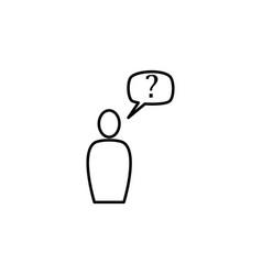 customer service icon vector image