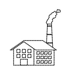 Industry manufactory building producing oil and vector