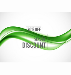 Abstract advertising sale design template vector