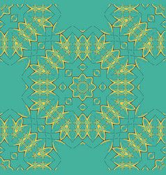 Arabian tiles seamless pattern fabric colorful vector