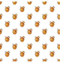 Hive pattern seamless vector