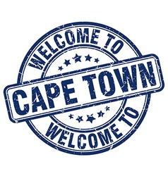 Welcome to cape town vector