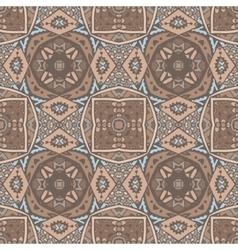 Absract seamless geometric mosaic vector