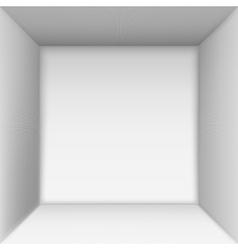 Box top view vector image vector image