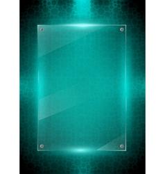 Digital green background vector image