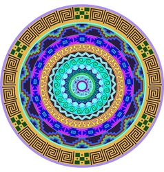 Mandala decoration design element vector
