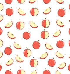 Apples seamless texture apples background wallpape vector