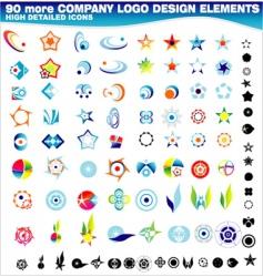 company logos design vector image