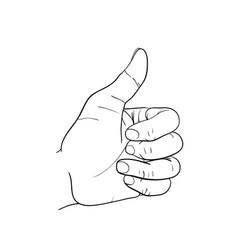 Hand great vector