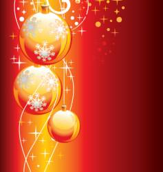 New Year backgrounds vector image vector image