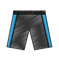 shrot team uniform icon vector image
