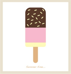summer ice cream bar vector image vector image