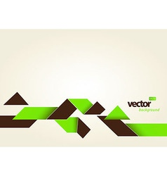 Abstract template with stripes and place for your vector image
