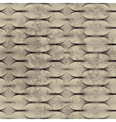 Guilloche pattern with grunge effect vector