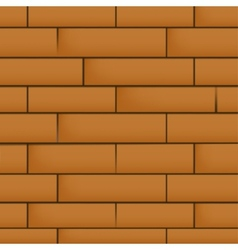 Wall with masonry vector