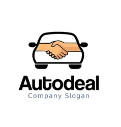 Auto deal design vector