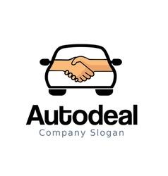 Auto deal design vector