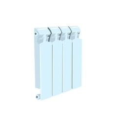 Central heating radiator vector