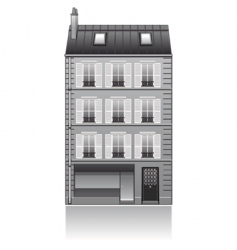 Paris buildings vector