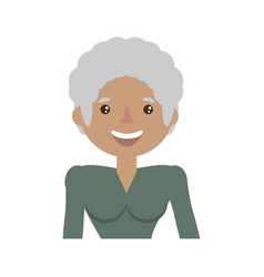Character woman female family member vector
