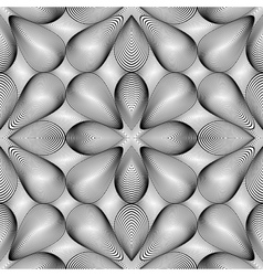 Design seamless monochrome pattern vector image vector image