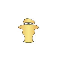 Gentleman computer symbol vector