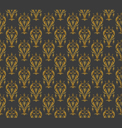 Vintage pattern on a dark background vector