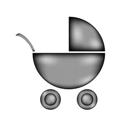 Pram sign icon vector