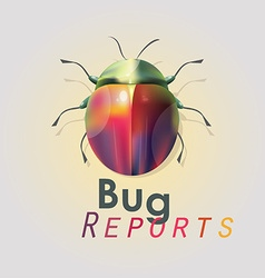 Bug reports wallpaper vector