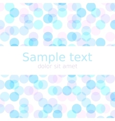 Pastel spring abstract background with copyspace vector