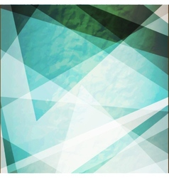 Abstraction retro grunge triangles vector image