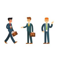 Business people man character vector