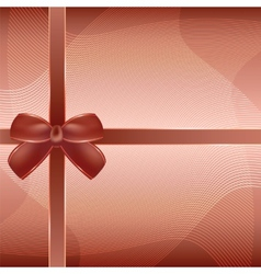 Cover of the present box brown background vector